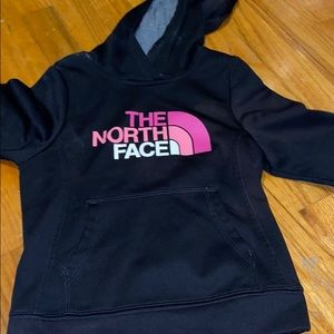 North Face girls hoodie